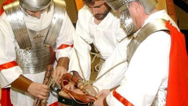 Representarán diversas escenas de la Semana Santa.