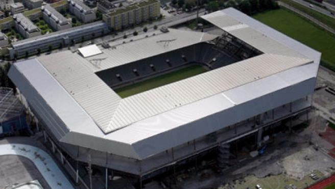 Estadio de Innsbruck, sede de la Eurocopa