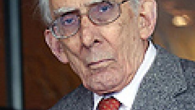 El editor, historiador y político Josep Benet.
