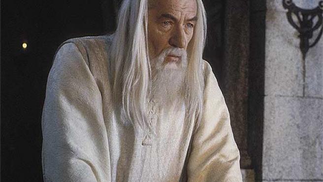 Ian McKellen, como Gandalf en la trilogía de 'El Señor de los Anillos'.
