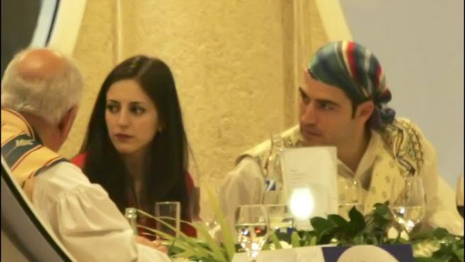 Ruth Nuñez y Alejandro Tous