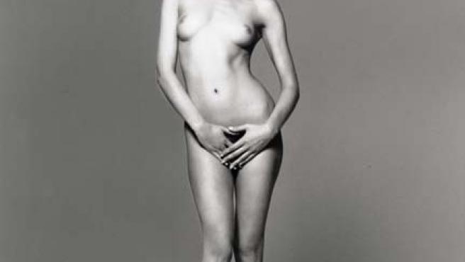 La primera dama francesa en su época de modelo.