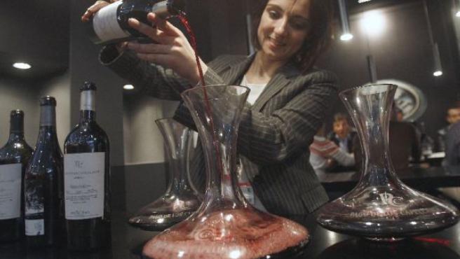 Una vez elegido el vino solo hay que disfrutarlo.