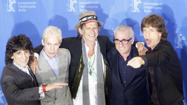 Los Rolling Stones y Martin Scorsese en la Berlinale.