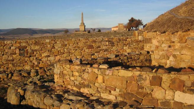 Yacimiento arqueológico de Numancia, en una imagen de archivo.