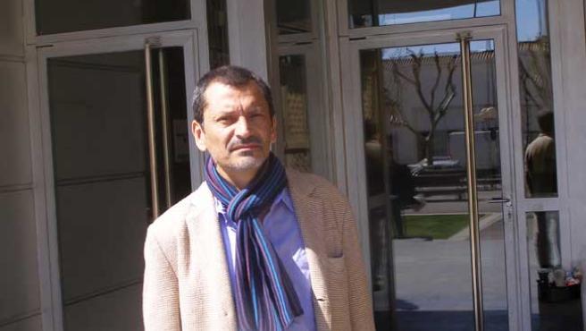 Guillermo Culell, durante el IX Congreso de Periodismo Digital celebrado en Huesca (DAVID RAMOS)