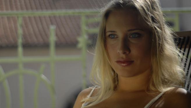 Deborah Binder interpreta a una embarazada en 'Amor sobrenatural'.