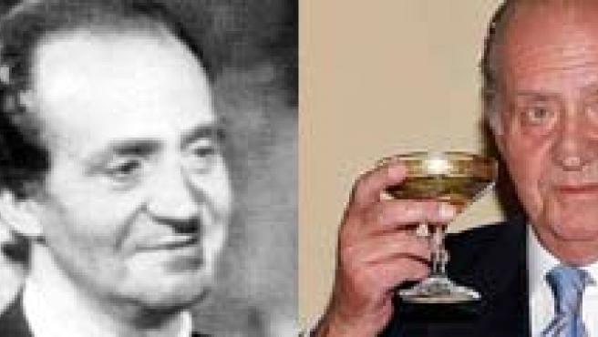 Don Juan Carlos, ayer y hoy. (ABC)