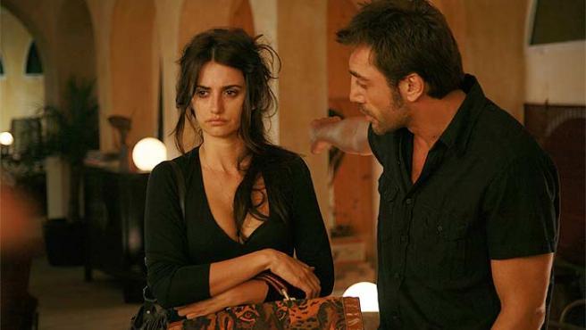 Penélope Cruz y Javier Bardem, en una escena de 'Vicky Cristina Barcelona'.