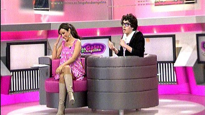 Angelino y Carmen Alcayde en una captura del programa de Telecinco.
