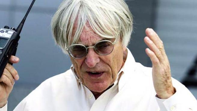 Bernie Ecclestone, el dueño de la Fórmula 1 (EFE)