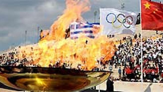 Los Juegos de Pekín podría tener el boicot de Estados Unidos. (AGENCIAS).