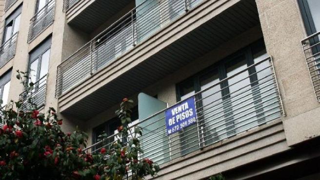 Una vivienda en venta, en una imagen de archivo.
