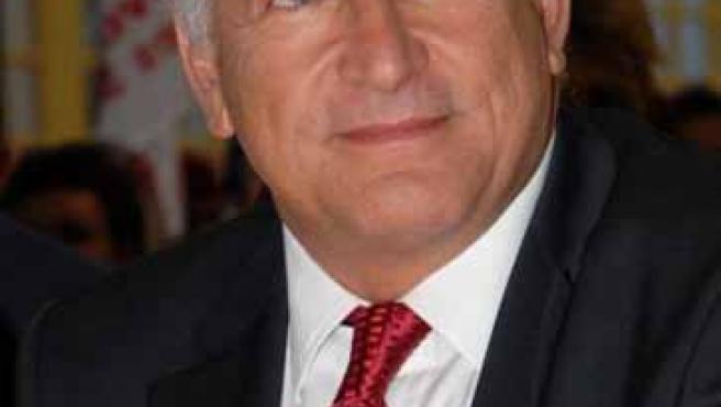 Dominique Strauss-Kahn, director ejecutivo del FMI.