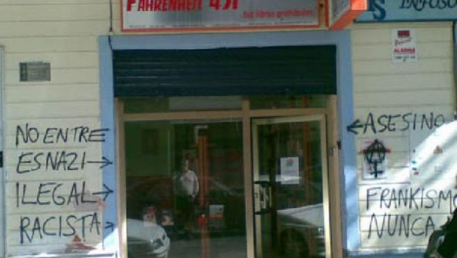 Librería Fahrenheit 451.