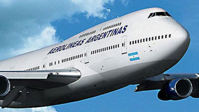 Un avión de la compañía Aerolíneas Argentinas. (Bfirsttravel)