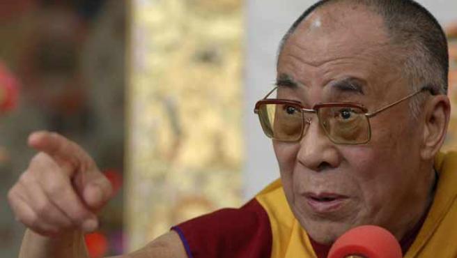 El Dalai Lama, durante una rueda de prensa el pasado mes de marzo. (REUTERS/Stringer)
