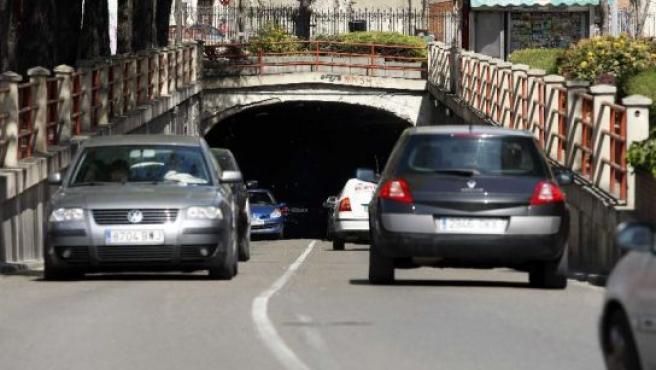 El túnel se cortará en dirección al centro desde Delicias.