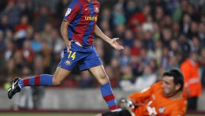 Henry no pudo superar al Pato Abbondanzieri. (REUTERS)
