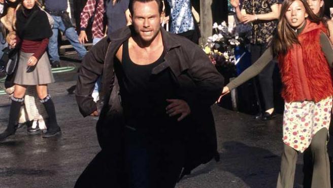 Christian Slater en 'Alone in the Dark', del alemán Uwe Boll.