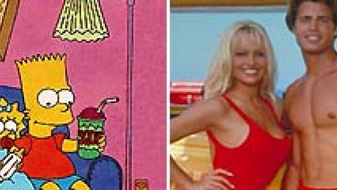 'Los Vigilantes de la Playa' sustituyeron a 'Los Simpsons' en la televisión venezolana. (ARCHIVO).