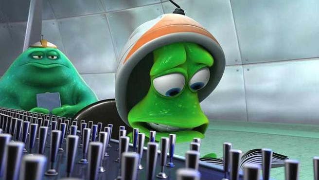 Imagen de 'Lifted', cortometraje de Pixar.