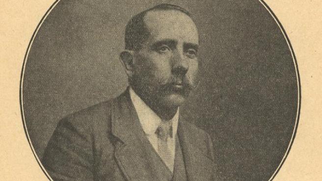 Pere Ibarra en un fotografía de la época.