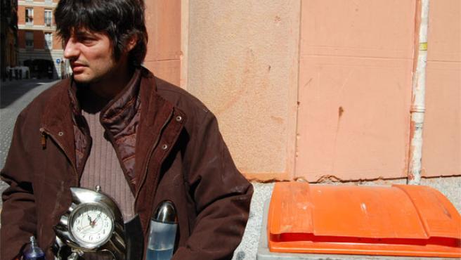 Salva Dávila interpreta a Antonio Chocho. FOTO: Pedro Polo.