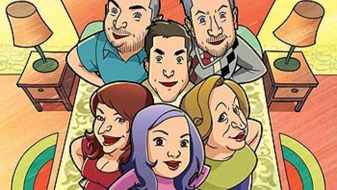 La portada del cómic de 'Escenas de Matrimonio'.