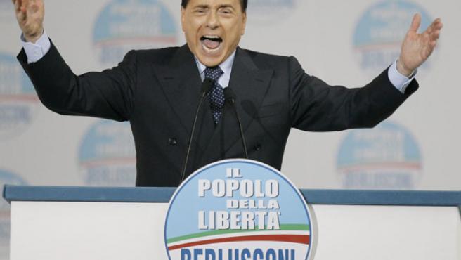 Silvio Berlusconi ha sido reelegido en las presidenciales italianas (REUTERS).