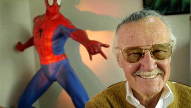 El creador de 'Spiderman', 'Hulk' o 'X-Men', Stan Lee.