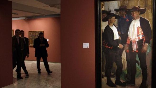 La exposición muestra al Sorolla más desconocido.