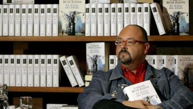 Carlos Ruiz Zafón en la presentación del libro