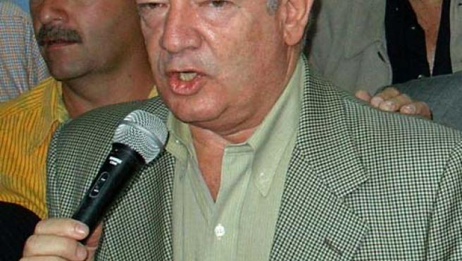 Fotografía de archivo del ex senador colombiano Mario de Jesús Uribe Escobar, cuya detención fue ordenada este martes. (EFE).