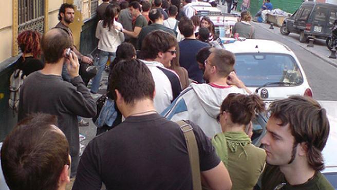 Las colas del paro serán más numerosas en 2008 y 2009.