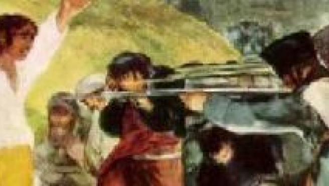 Imagen del cuadro de Goya 'Los fusilamientos del dos de mayo'.