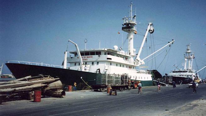 El pesquero español fue asaltado y secuestrado por piratas (EFE).