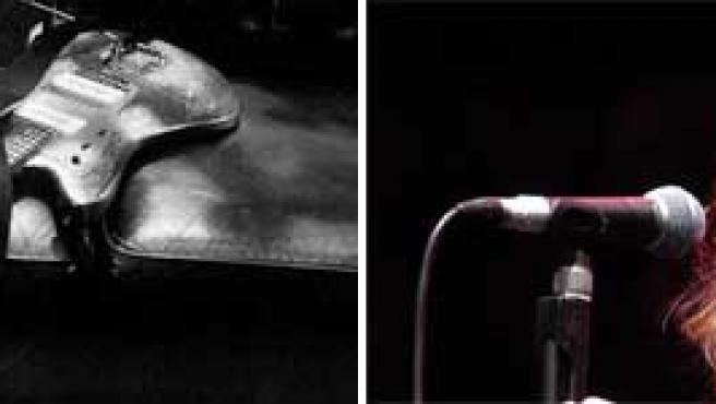 Una foto obra de Patti Smith y la cantante Foto: Foundation Cartier y Korpa