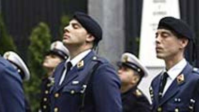 La ministra de Defensa, Carme Chacón.