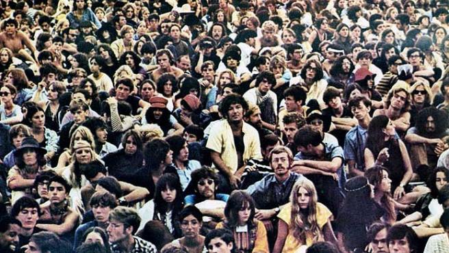 Imagen de la película 'Woodstock'.