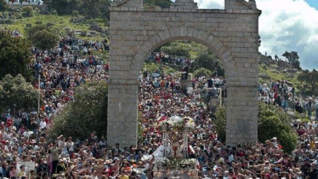 Imagen de la Romería de Andújar del año pasado.