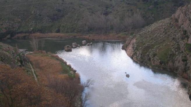 Imagen del Tajo a su paso por Toledo. (FLICKR)