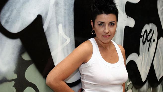 Amparo Sánchez, lider y cantante de Amparanoia. (ARCHIVO)