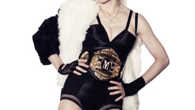 Madonna en una imagen promocional para 'Hard Candy'.