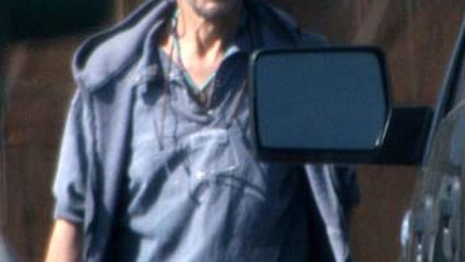 El actor Patric Swayze esta semana en Los Ángeles. (FOTO: DAILY MAIL)