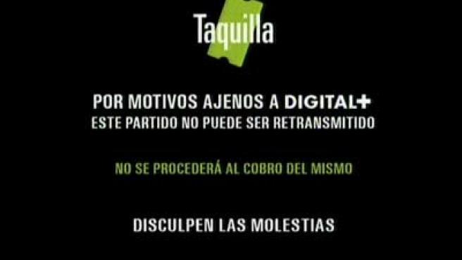Sevilla - Valladolid en Digital+.