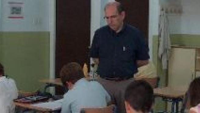 Estudiantes durante una de sus clases.