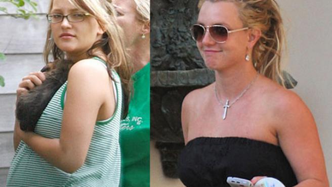 Las hermanas Spears, Jamie Lynn y Britney
