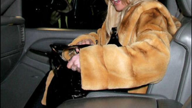 Lindsay Lohan en Nueva York, el pasado 20 de enero.