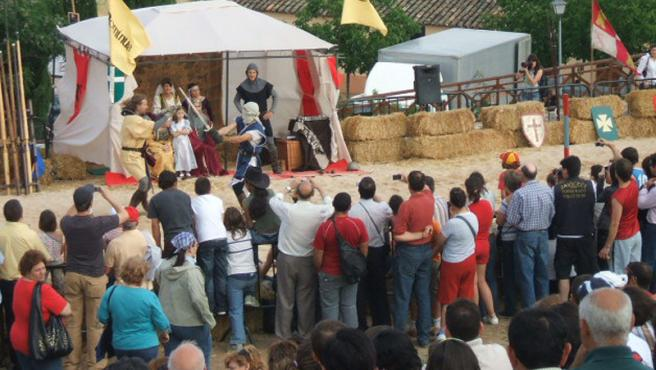 Imagen del torneo medieval del pasado año.